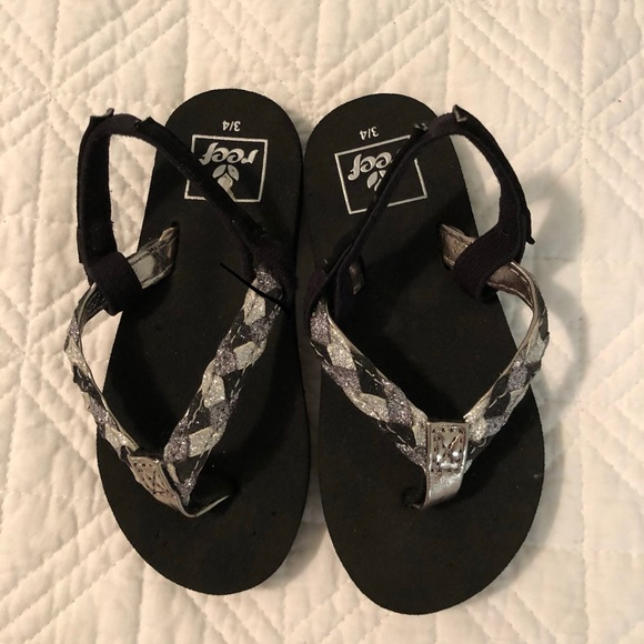 official store new product official site Reef toddler flip flops